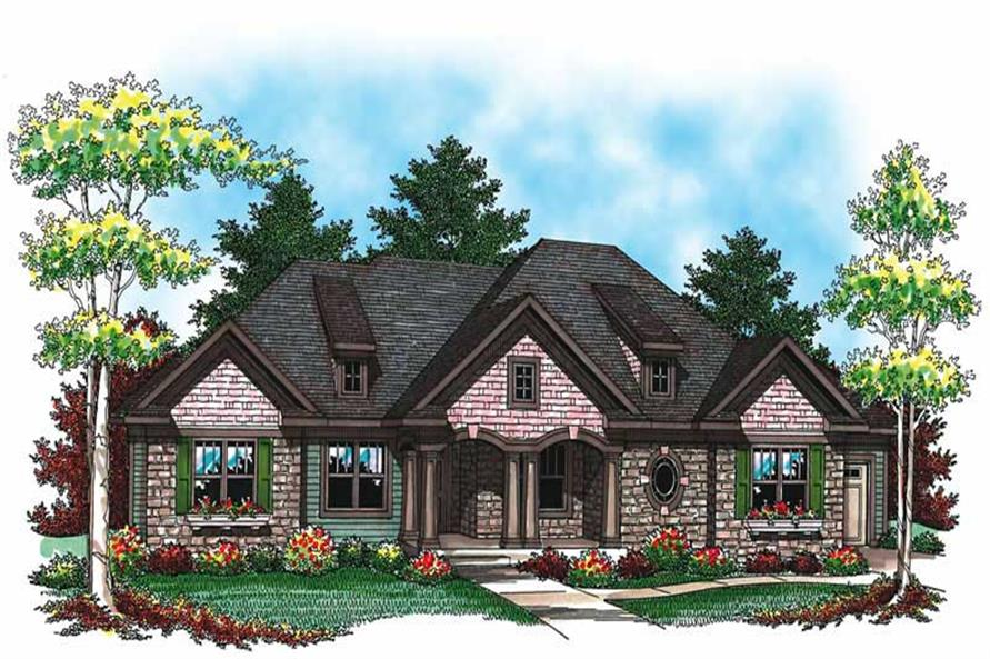 Main image for house plan # 19486