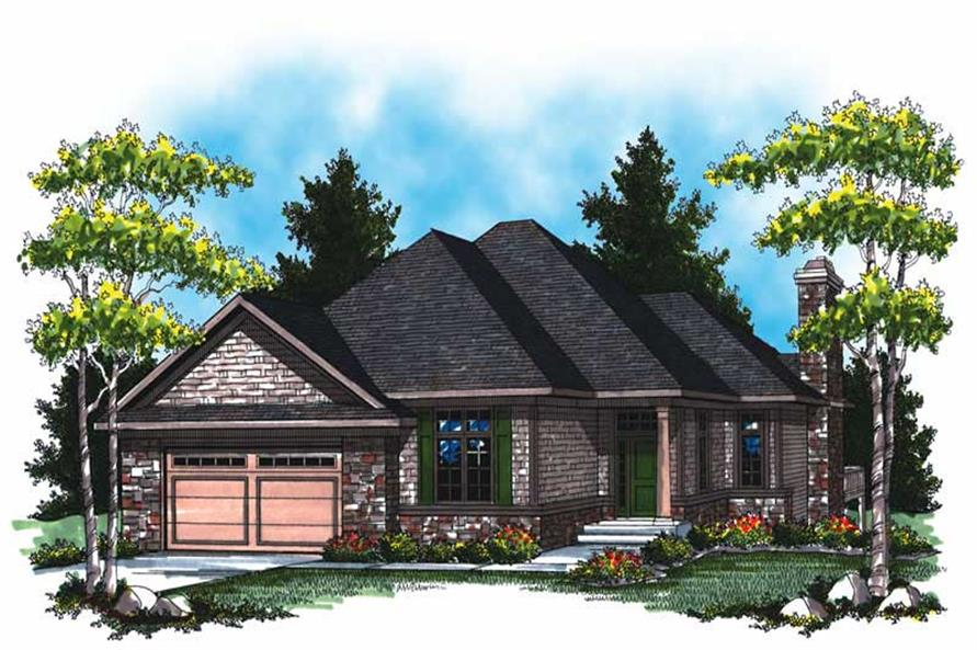 Main image for house plan # 16992