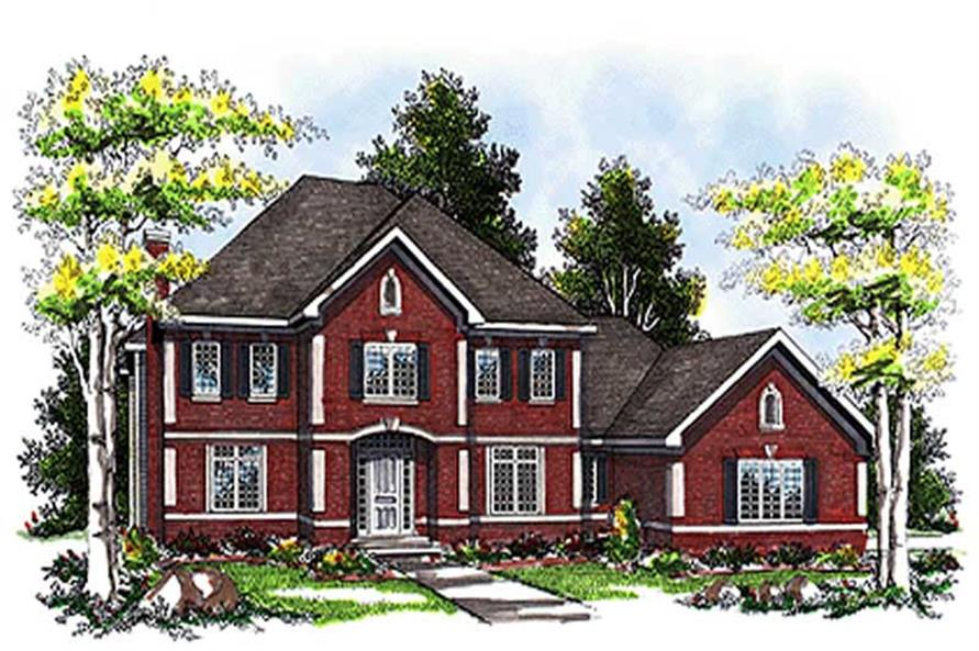 Main image for house plan # 17072