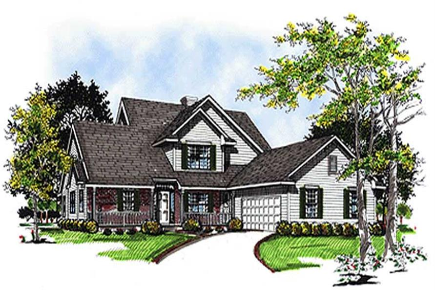 Main image for house plan # 17074