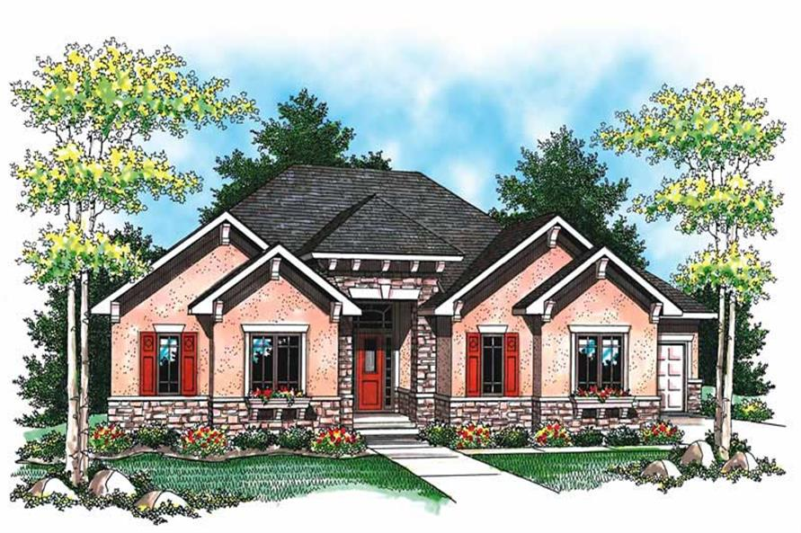 Main image for house plan # 19492