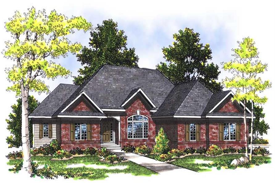 Main image for house plan # 13523