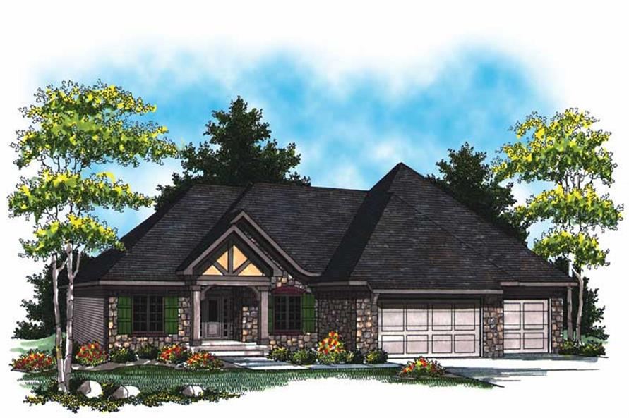 Main image for house plan # 17008