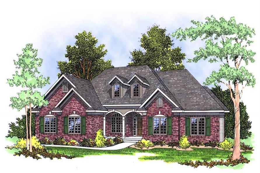 Main image for house plan # 13535