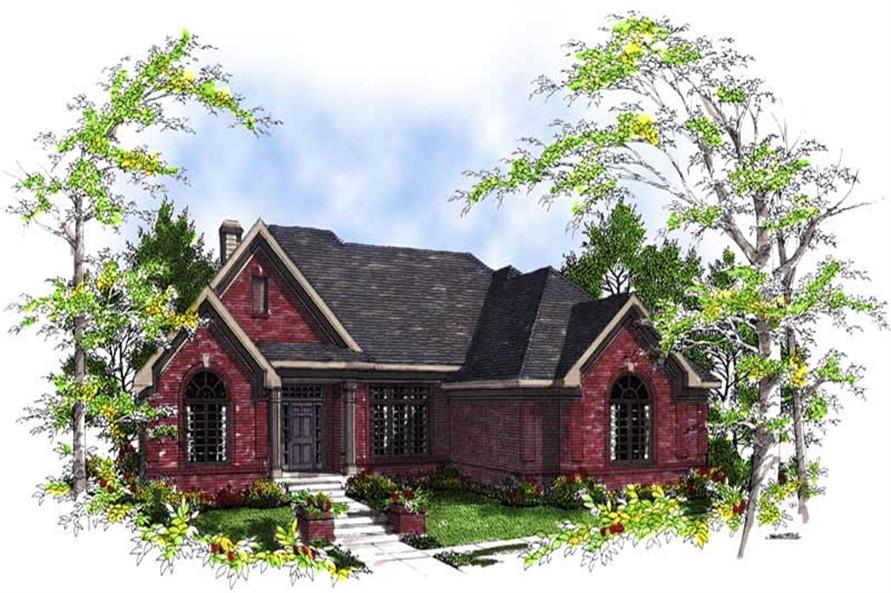 Main image for house plan # 13460
