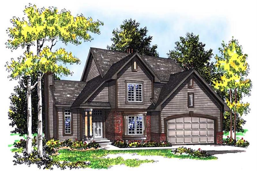 Main image for house plan # 13563