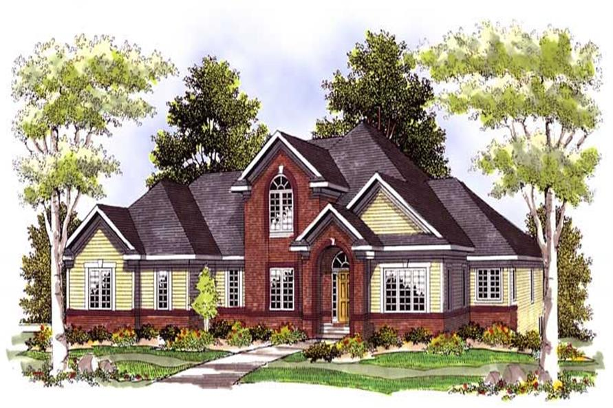 Main image for house plan # 13602