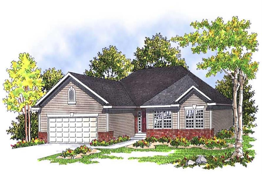 Main image for house plan # 13521