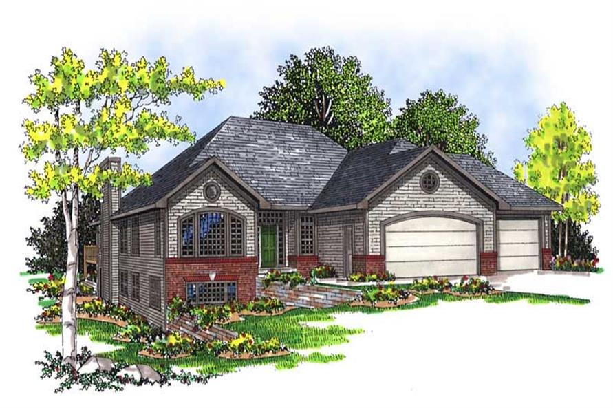 Main image for house plan # 13519