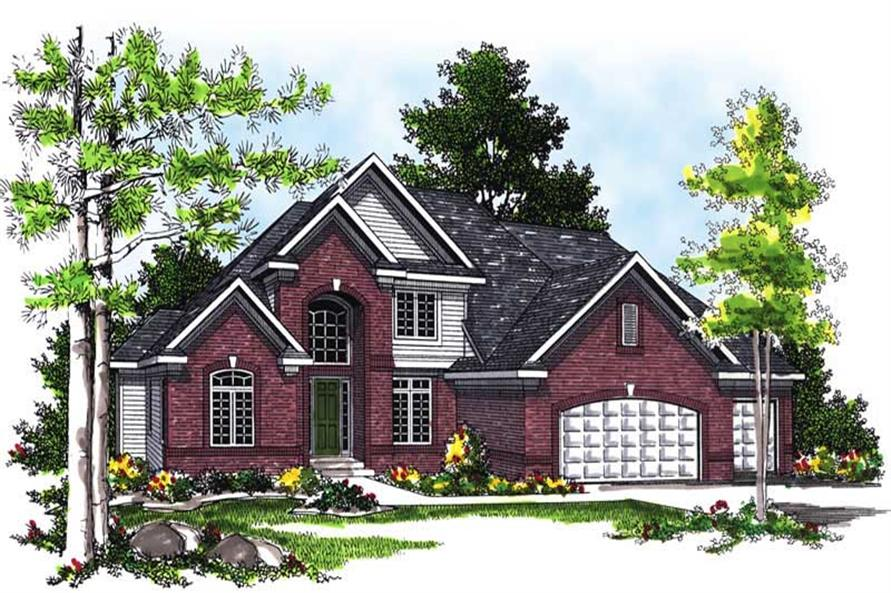 Main image for house plan # 13508