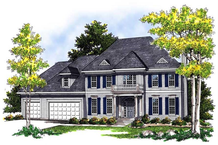 Main image for house plan # 13562