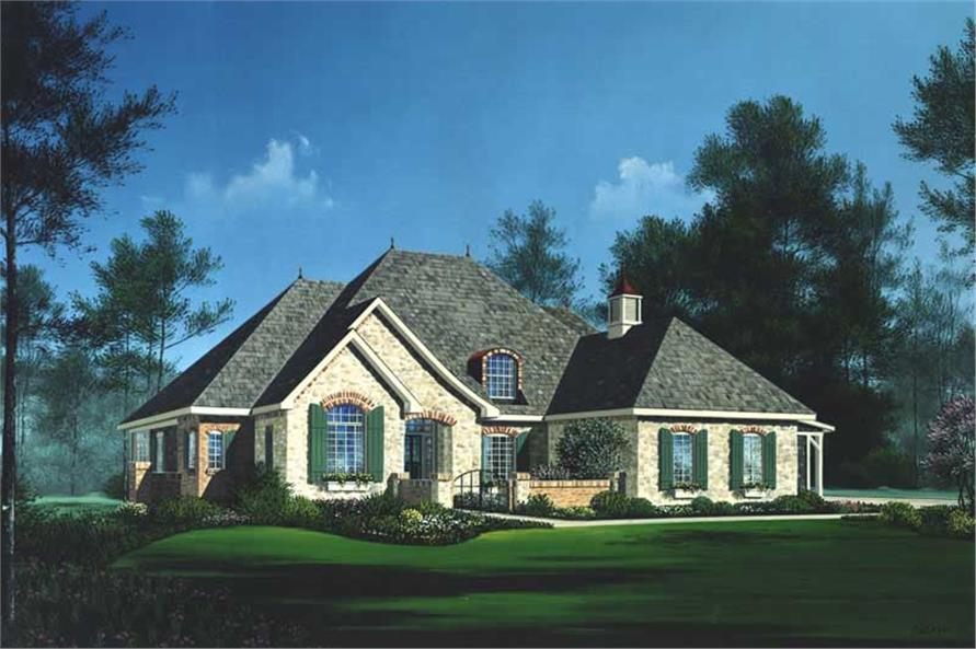 Main image for house plan # 13696