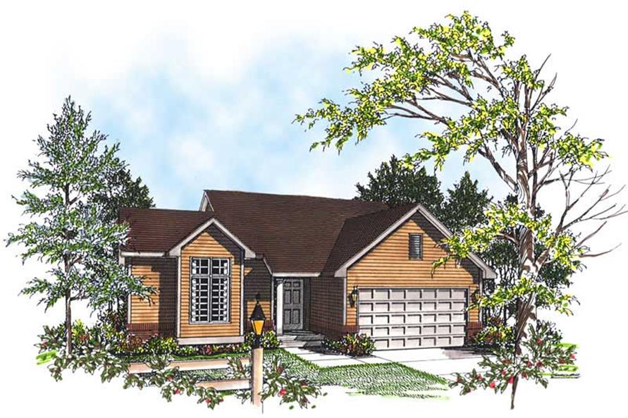 Main image for house plan # 13331