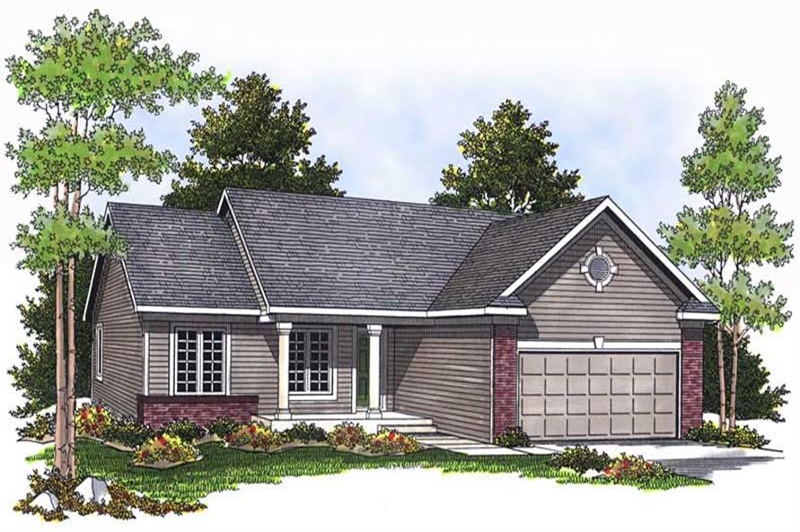 Main image for house plan # 13716