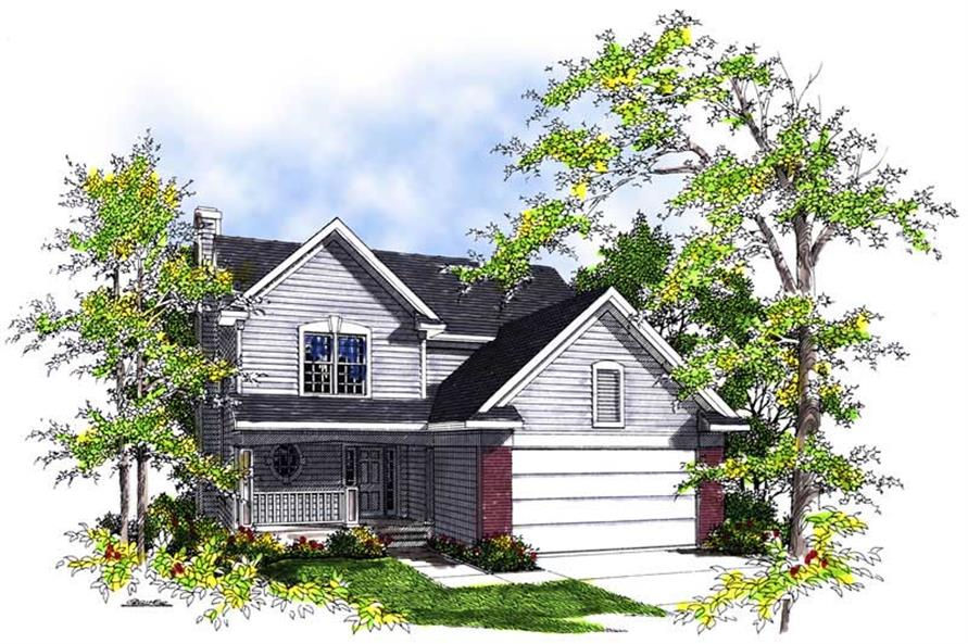 Main image for house plan # 13456
