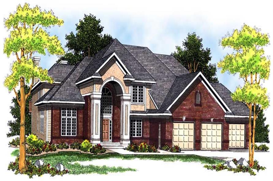 Main image for house plan # 13654