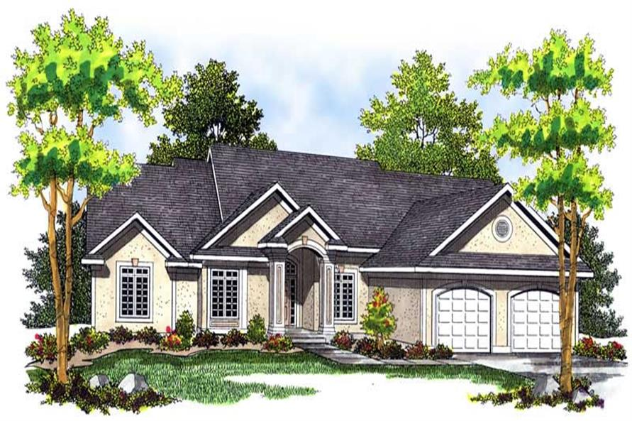 Main image for house plan # 13653