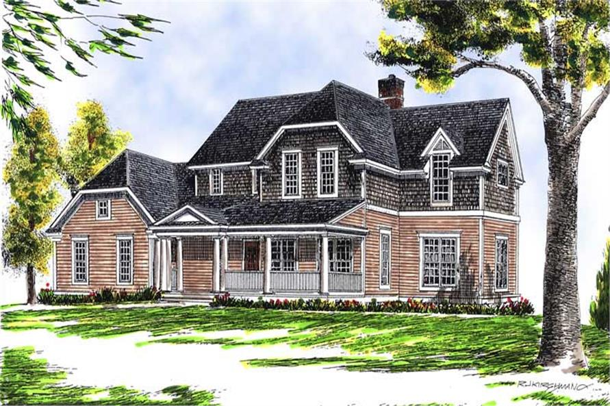 Main image for house plan # 13615