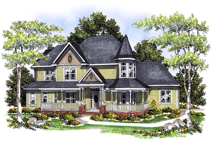 Main image for house plan # 13603