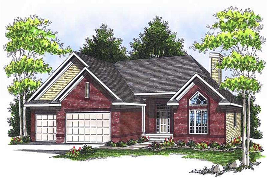Main image for house plan # 13711