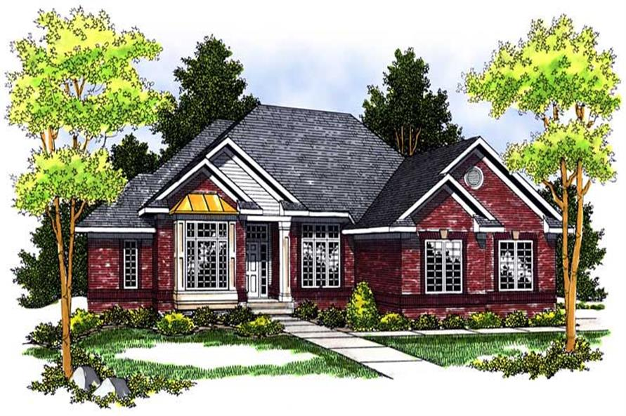 Main image for house plan # 13680