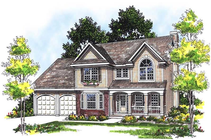 Main image for house plan # 13480