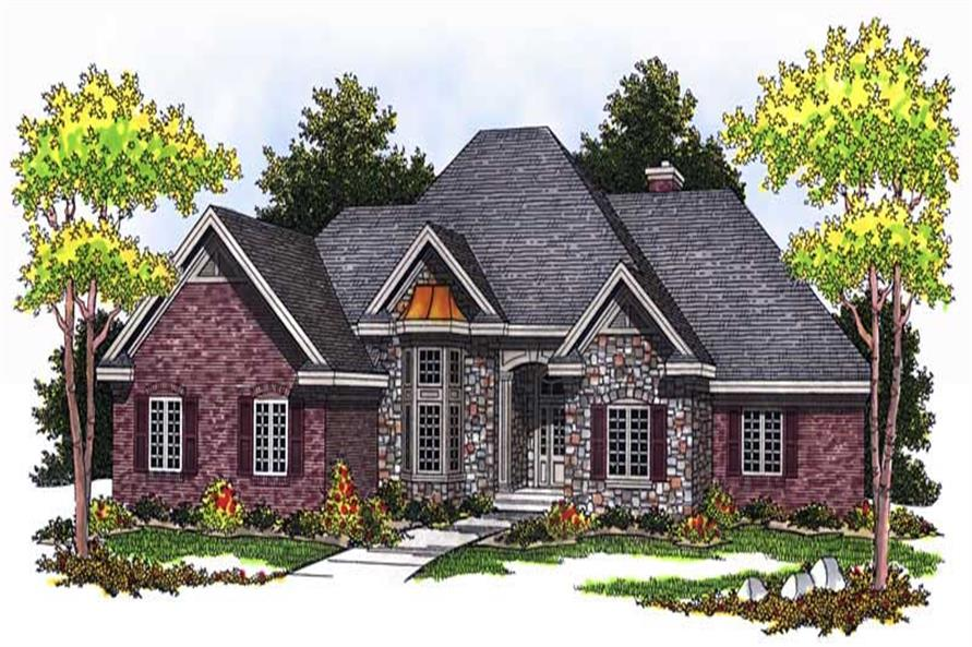 Main image for house plan # 13710