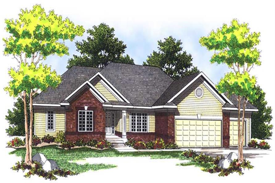Main image for house plan # 13679