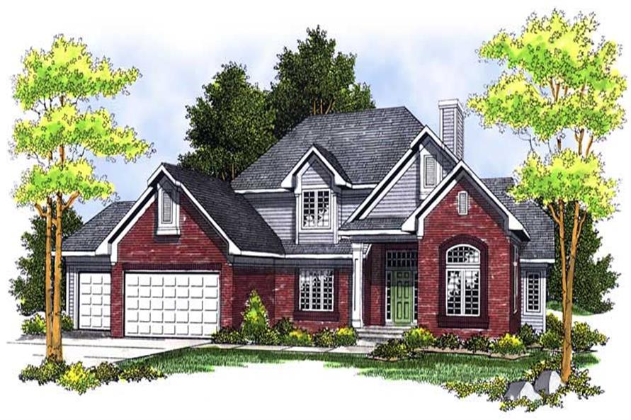 Main image for house plan # 13677