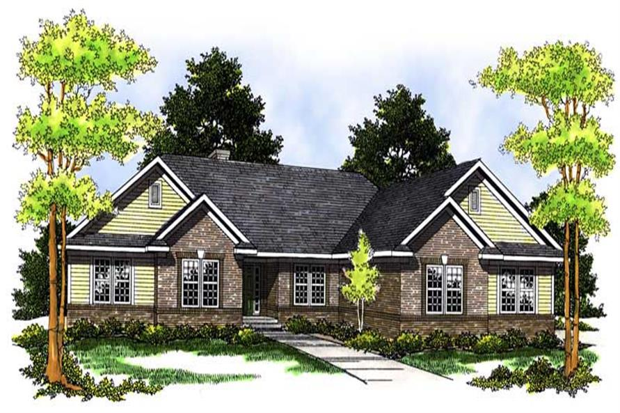Main image for house plan # 13674