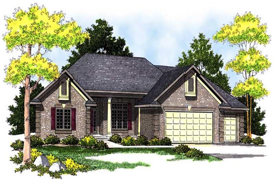 Main image for house plan # 13673