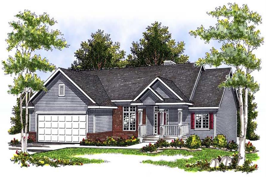 Main image for house plan # 13692