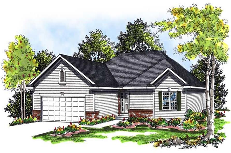 Main image for house plan # 13437