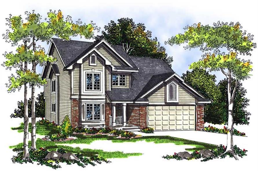 Main image for house plan # 13432