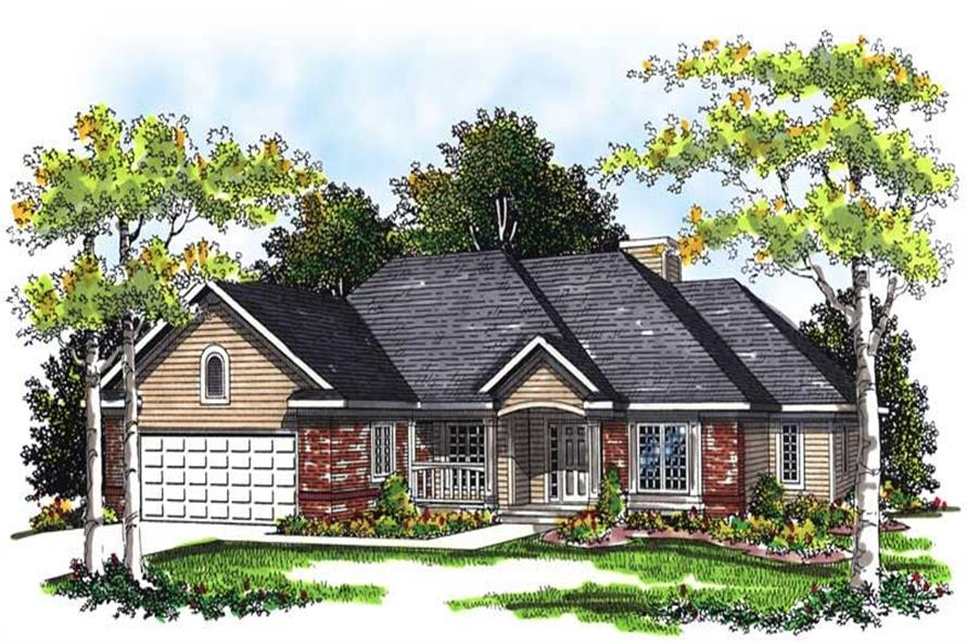 Main image for house plan # 13430