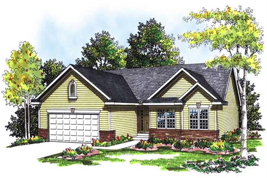 Main image for house plan # 13413