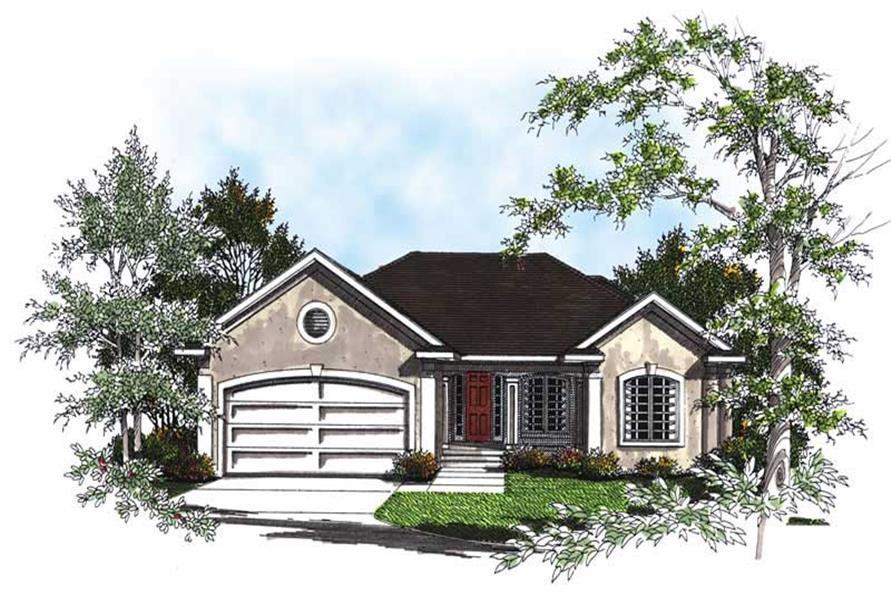 Main image for house plan # 13368