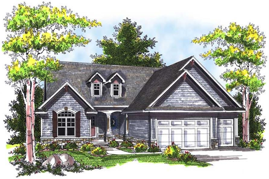 Main image for house plan # 14017