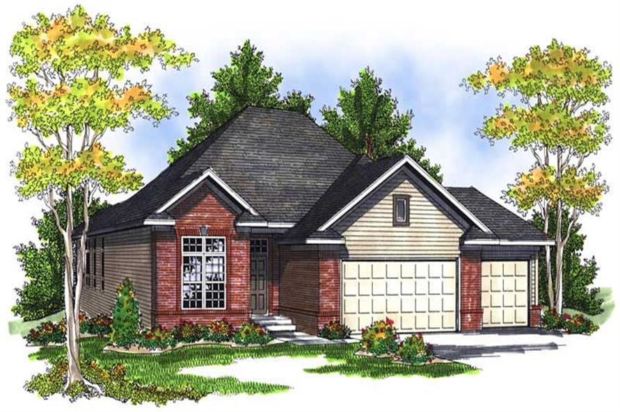 Main image for house plan # 13982
