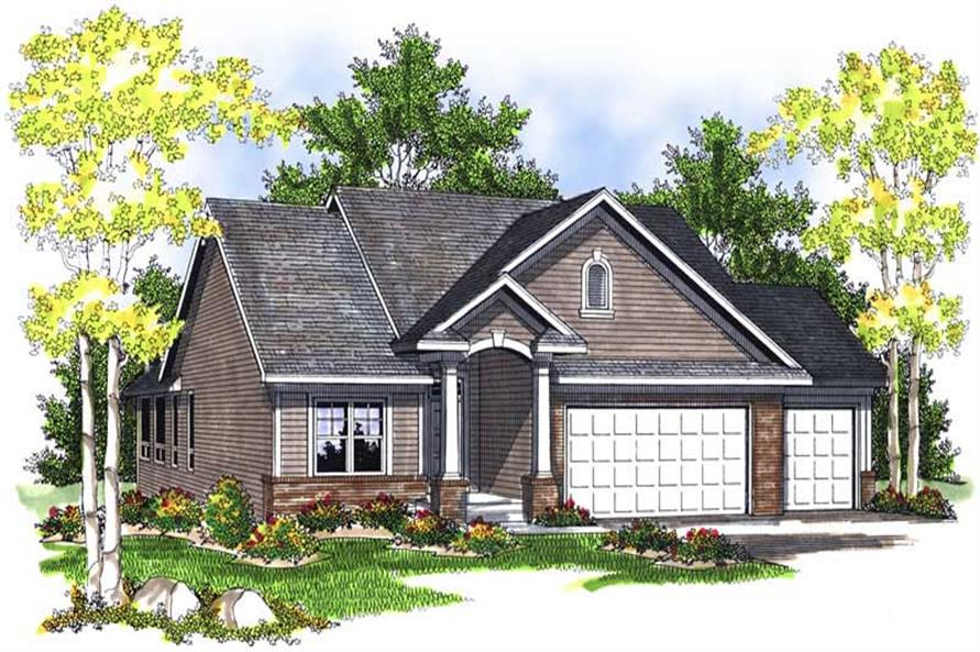 Main image for house plan # 13983