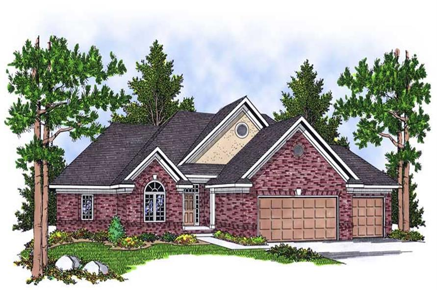 Main image for house plan # 13810