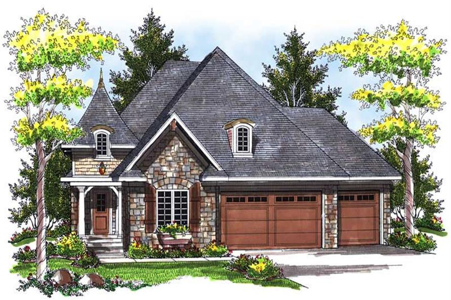 Main image for house plan # 13999