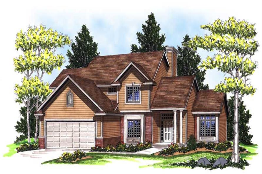 Main image for house plan # 13315