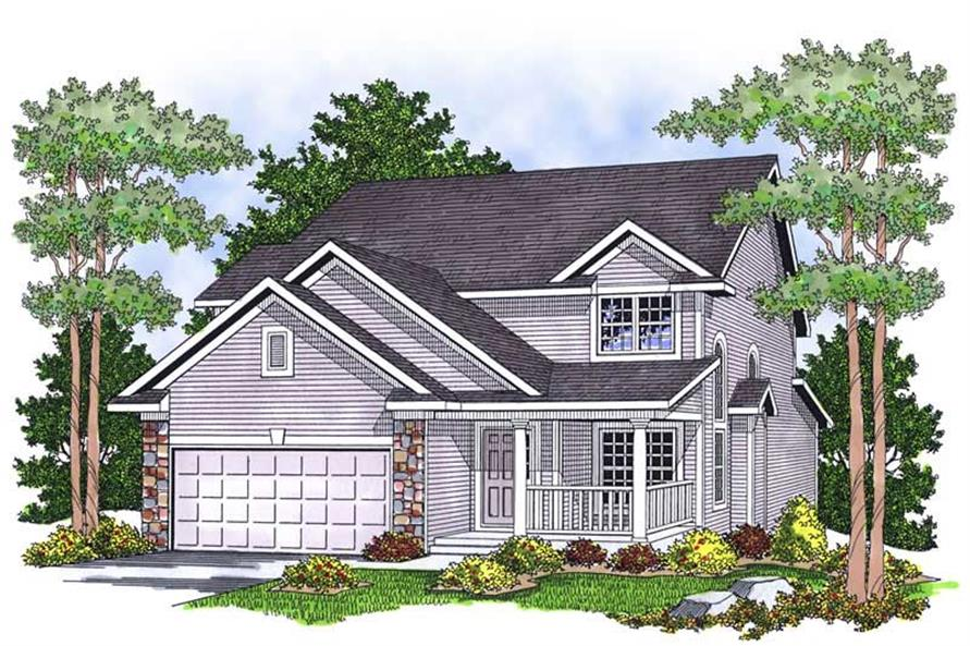 Main image for house plan # 13804