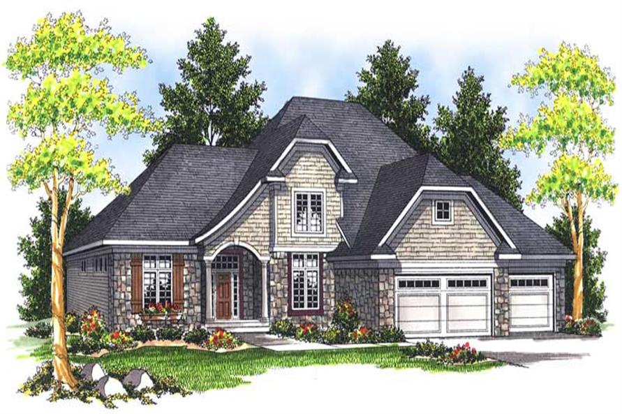Main image for house plan # 13960