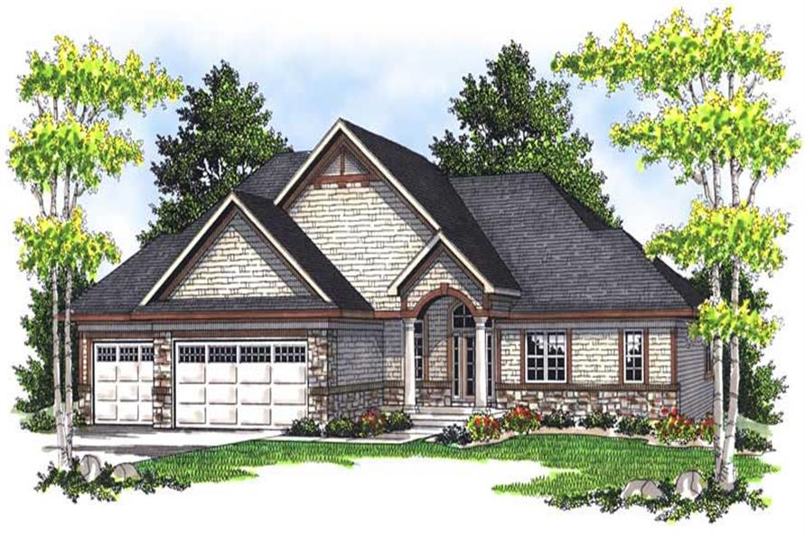 Main image for house plan # 13943
