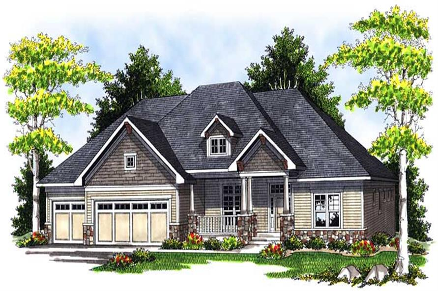 Main image for house plan # 13948