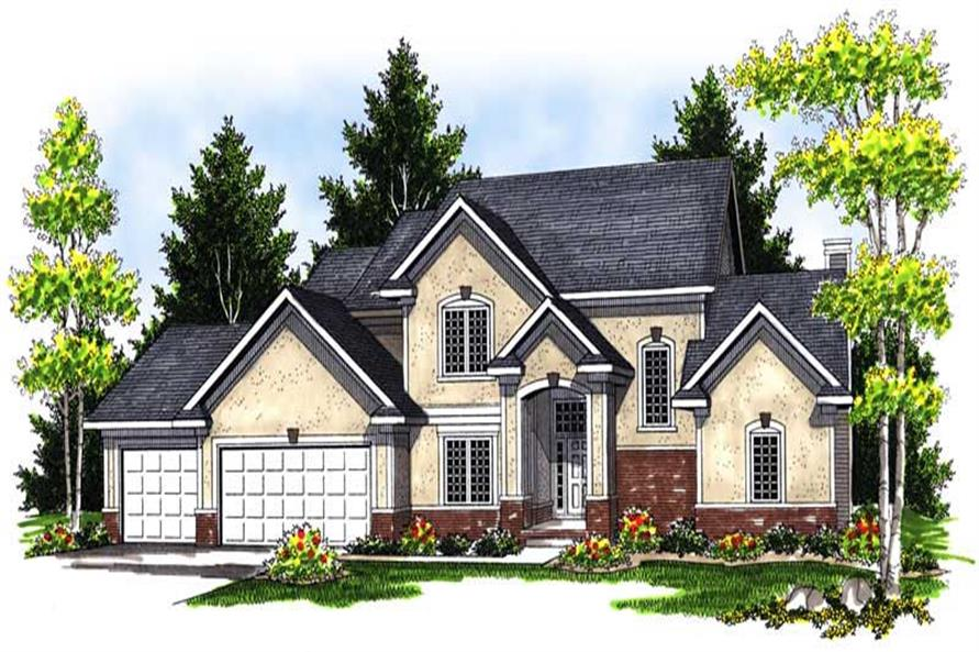 Main image for house plan # 13951