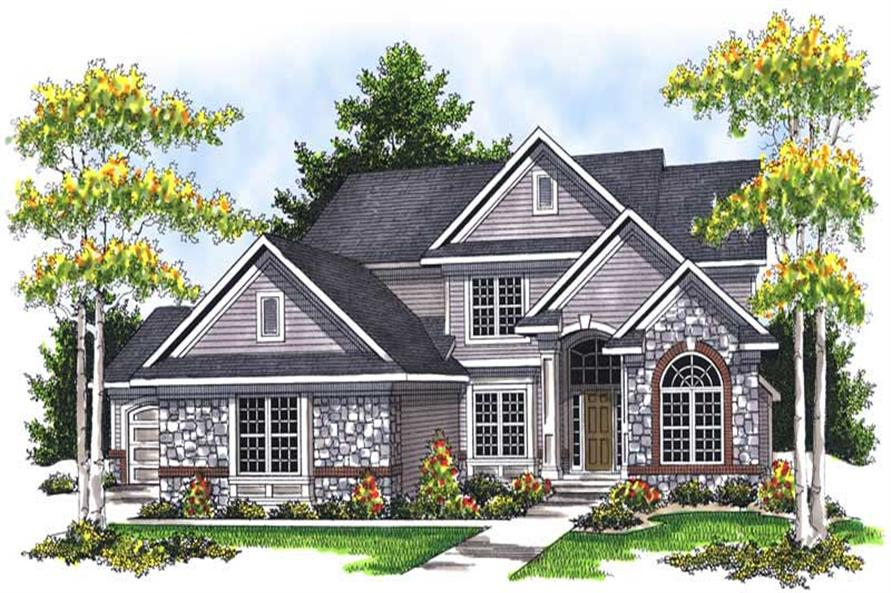 Main image for house plan # 13953
