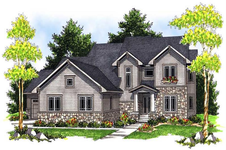 Main image for house plan # 13957